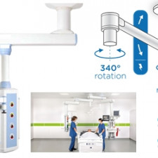 TECHNICAL SPECIFICATIONS FOR MEDICAL GAS PENDANT FOR OPERATING ROOMS: