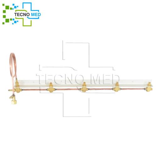 Medical Gas Ramp (5 cylinder)