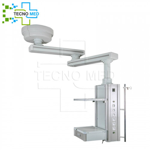 Non-motorized Double Arm 3 Articulated Intensive Care Pendant