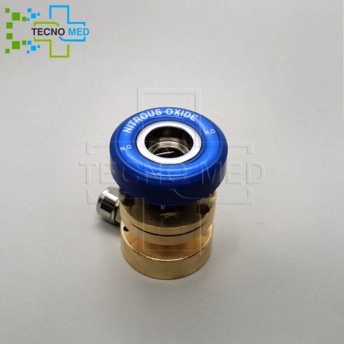 DIN Norm ABS Nitrous Oxide Gas Outlet