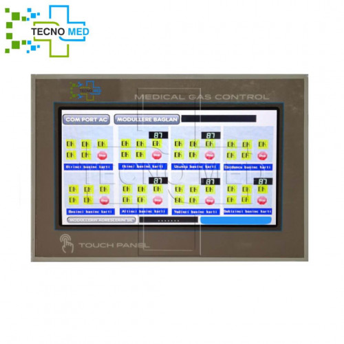 Central Medical Gas Monitoring Panel